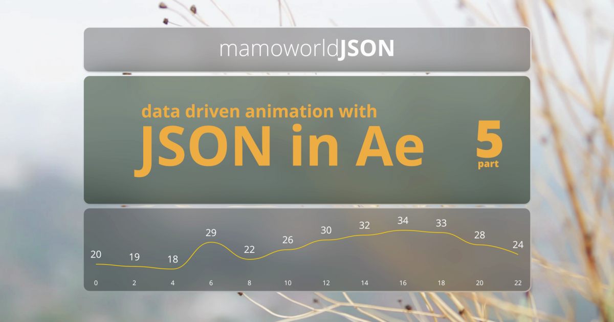 Tutorial Data-Driven Animation with JSON in After Effects