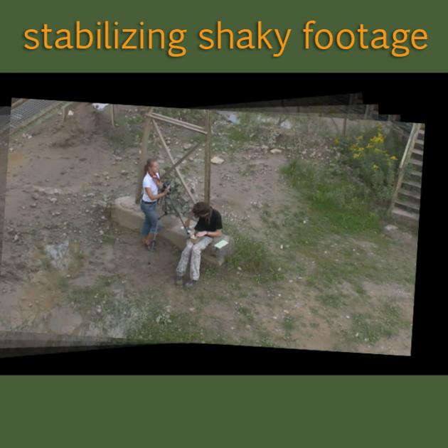 Tutorial Stabilize Motion Without the Need to Zoom
